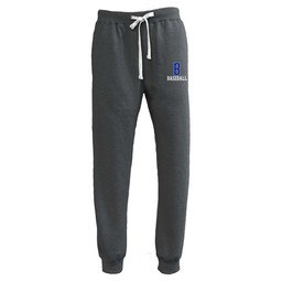Burbank Baseball Pennant Throwback Jogger Black - 8106