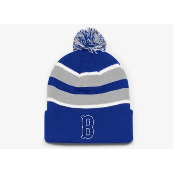 Burbank Baseball 641K Loose-Fit Pom-Pom Knit