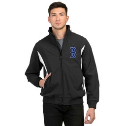 Burbank  Baseball - 6430 Prometheus Jacket Black/White