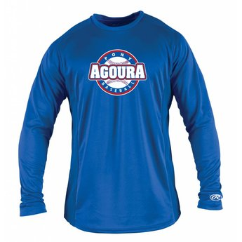 Agoura Pony Rawlings Adult Long Sleeve Shirt - LSBASE