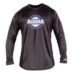Agoura Pony Rawlings Youth Long Sleeve Shirt - YLSBASE