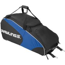 Rawlings Workhorse Wheeled Bag Black-WHWB2