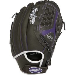 Rawlings Storm 12.5 in Fastpitch Softball Glove Dk Shadow 12 1/2-ST1250FPUR-6/0