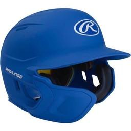 Rawlings Mach Junior One-Tone Matte Helmet with EXT Flap - MACHEXTLJR (LHB)