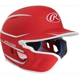 Rawlings Mach Senior Two-Tone Matte Helmet with EXT Flap - MACHEXTLS (LHB)