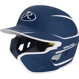 Rawlings Mach Senior Two-Tone Matte Helmet with EXT Flap - MACHEXTRS (RHB)
