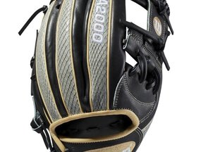 CUSTOM A2000 1787 WITH SNAKESKIN LEATHER BASEBALL GLOVE - DECEMBER 2018