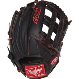 "Rawlings R9 Series 12"" Pro Taper Outfield Baseball Glove - R9YPT6-6B"