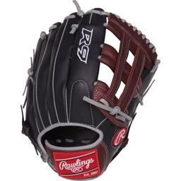 """Rawlings R9 Series 12.75"""" Outfield Glove - R93029-6BSG"""