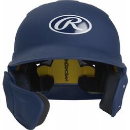 Rawlings Mach Senior One-Tone Matte Helmet with EXT Flap - MACHEXTLSR (LHB)
