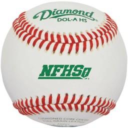 Diamond DOL-A NFHS Official League Leather Baseballs
