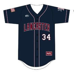 LHS Rawlings 2019 Navy Jersey