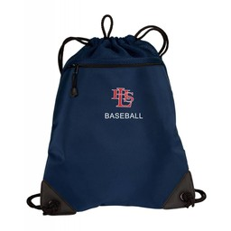 LHS Baseball Port Authority - Cinch Pack with Mesh Trim: BG810