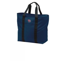 LHS Baseball Navy All Purpose Tote - B5000