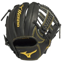 Mizuno Pro Limited Edition GMP600BK  Infield Glove Black Right Hand Throw