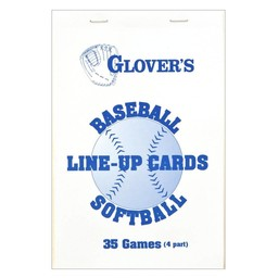 Glover's Line-Up Cards: BB-103