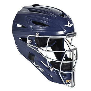 All Star System Seven Solid Gloss Catching Helmet - MVP2500