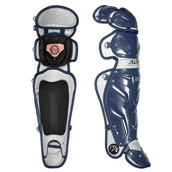 """All-Star System Seven Adult 16.5"""" Pro Leg Guards - LG30WPRO"""
