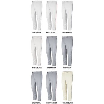 e709bfc7ad14 Majestic Cool Base HD Piped Adult Pants - 8940 - Bagger Sports