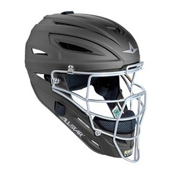 All-Star System Seven Matte Finish Catchers Helmet Youth - MVP2510M