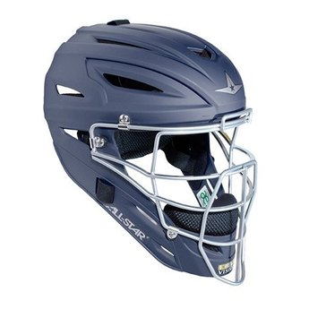 All Star System Seven Matte Finish Catchers Helmet Youth - MVP2510M