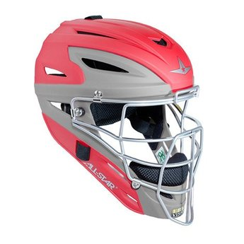 All-Star System Seven Matte Two Tone Catching Helmet Youth - MVP2510MTT