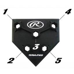 Rawlings 5 Position Batting Tee