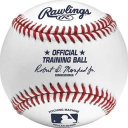 Rawlings Official MLB Pitching Machine Baseball (Dozen) - ROPM