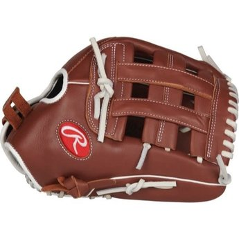 "2019 Rawlings R9 Series 13"" Fastpitch Glove Pro H Web, Pull-Strap Back: R9SB130-6DB-3/0"