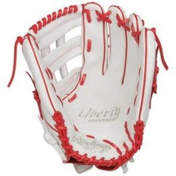 2019 Rawlings Liberty Advanced 13 in Fastpitch Outfield Glove: RLA130-6W