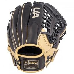 "Under Armour Genuine Pro UAFGGP-1175MT 11.75"" Baseball Glove - Black/Cream"