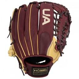 "Under Armour Genuine Pro UAFGGP-1175MT 11.75"" Baseball Glove - Black/Cherry/Cream"