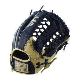 "Under Armour Genuine Pro  UAFGGP-1175MT 11.75"" Baseball Glove- Navy/Cream"
