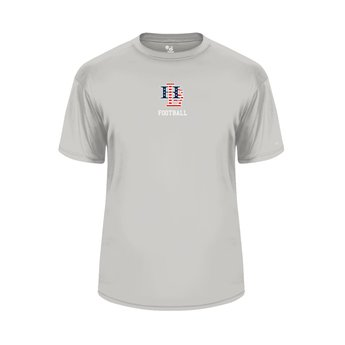 LHS Football  Badger Sport Silver Dry Fit - 4120