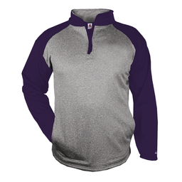 Badger Sport Heather 1/4 Zip - 1484