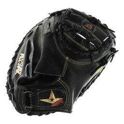 "All-Star Pro Elite 33.5"" Catcher's Mitt, Black -CM3000SBK"