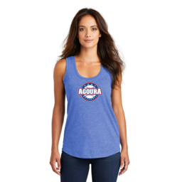 Agoura Pony District Women's Perfect Tri Racerback Tank