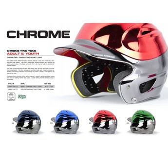 Under Armour Junior Chrome Batting Helmet UABH-110CTT