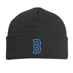 Burbank Baseball BLACK 621K KNIT FOLD BEANIE : ONE SIZE