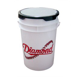 Diamond Ball Bucket White