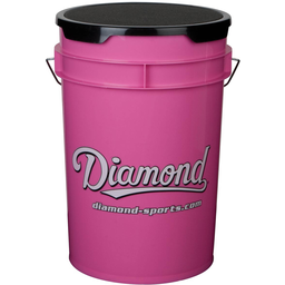 Diamond Ball Bucket Pink