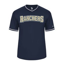 Ranchers Vintage Navy Jersey - 7974