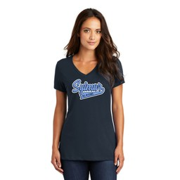 Sylmar All Stars District ® Women's Perfect Weight ® V-Neck Tee -DM1170L