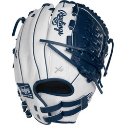 "Rawlings Liberty Advanced Color Series 12.5"" Fastpitch Glove - RLA12518WN"