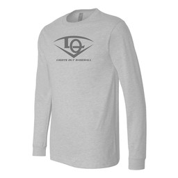 Lights Out Bella- Long Sleeve Jersey Tee - 3501