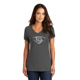 Lights Out District Women's Perfect Weight V-Neck Tee
