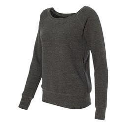 Bella + Canvas - Women's Sponge Fleece Wide Neck Sweatshirt - 7501