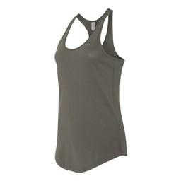 Alternative - Women's Satin Jersey Shirttail Tank - 4031