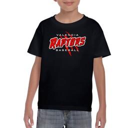 Raptors Gildan 8000B Youth T-Shirt Black