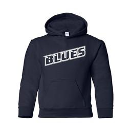 SCV Blues Gildan 18500B Youth  Cotton Hoodie